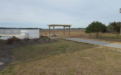 Pergola, Paver Patio and Petanque/Bocce Court